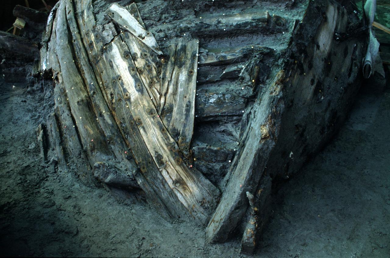 Relitto nave antica romana