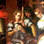 Giorgio Vaasari, dettaglio della Deposizione nella chiesa della Santissima Annunziata di Arezzo