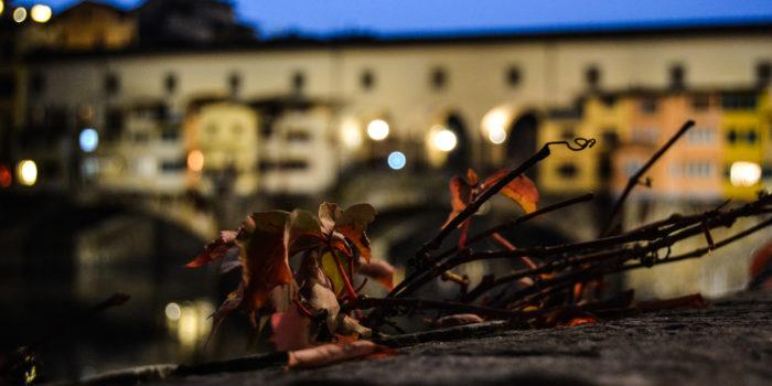 Ponte Vecchio in autunno