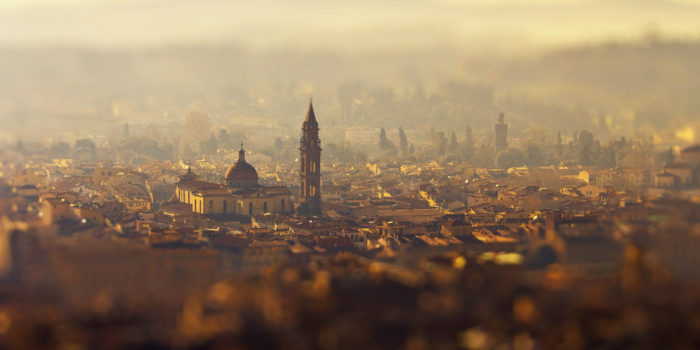 Vista panoramica di Firenze