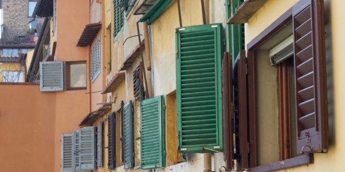 Particolare di Finestre di Ponte Vecchio