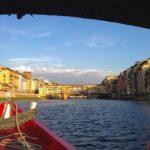 Itinerario in barca sull'Arno